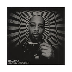 <!--020061205008387-->Sadat X - 'Black October' [(Black) Vinyl [2LP]]