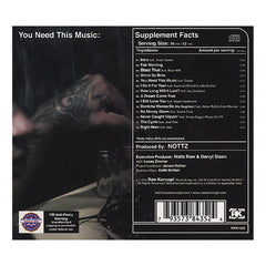 <!--120101026023711-->Nottz - 'You Need This Music:' [CD]