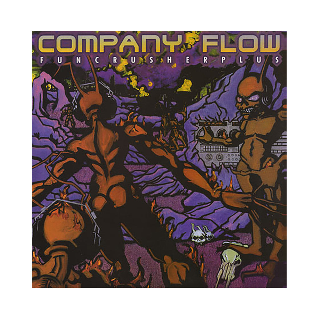 Company Flow - 'Funcrusher Plus (Import)' [(Black) Vinyl [2LP]]