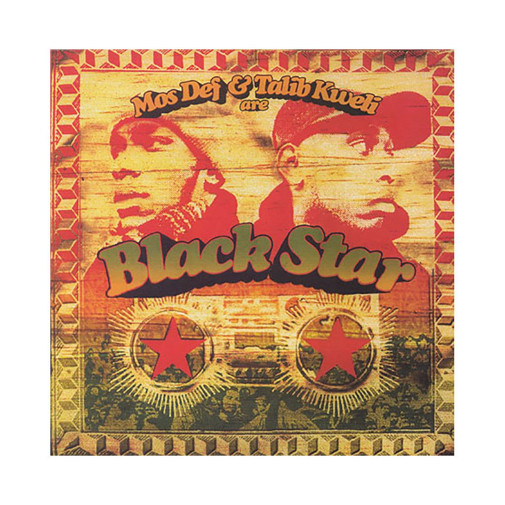 <!--019990223009689-->Black Star - 'Mos Def And Kweli Are Black Star' [(Black) Vinyl LP]