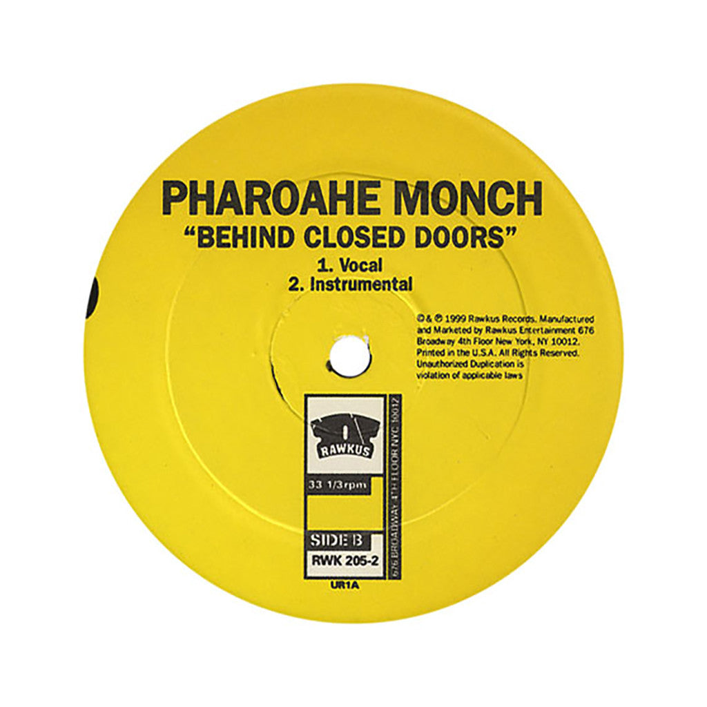 "<!--019990914010377-->Pharoahe Monch - 'Simon Says/ Behind Closed Doors' [(Black) 12"""" Vinyl Single]"