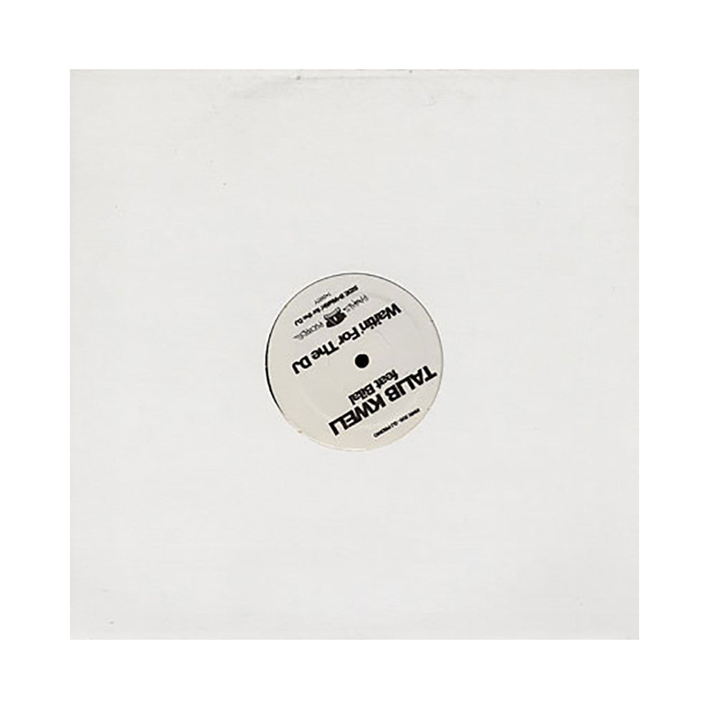 "Talib Kweli - 'Waitin' For The DJ' [(Black) 12"" Vinyl Single]"