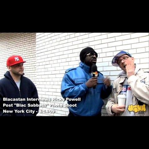 Blacastan & Ricky Powell - 'Ricky Powell: UGHH Cribs Episode & Interview By Blacastan (New York, NY - 3/14/09)' [Video]