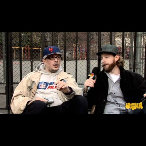 Ricky Powell - 'Interview Pt. 2 (In The Village - Manhattan, NY - 3/14/09)' [Video]