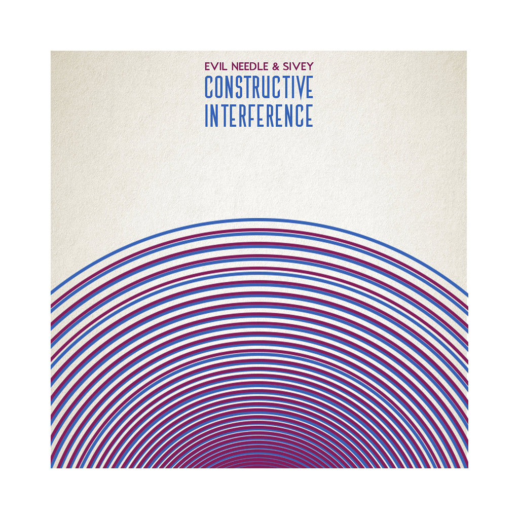 Evil Needle & Sivey - 'Constructive Interference' [(Black) Vinyl LP]