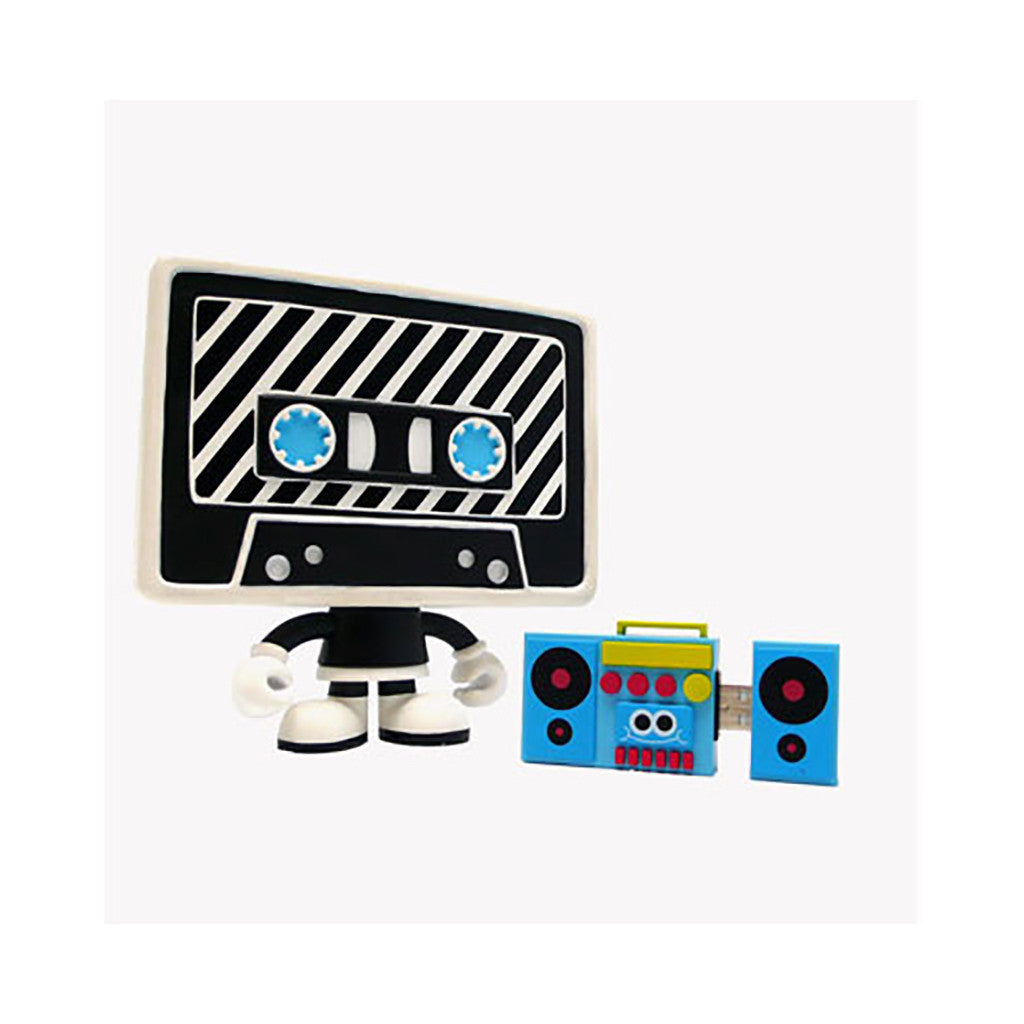 <!--020091215019468-->Auto + USBoombox (Superdeux) - 'Auto + USBoombox: Striped Edition' [Toy]