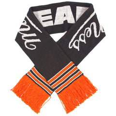 <!--020121016050305-->Mitchell & Ness x NFL - 'Chicago Bears - NFL Throwback Team Knit Scarf' [(Dark Blue) Scarf]