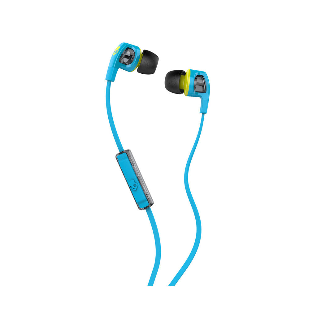 <!--120140319062938-->Skullcandy - 'Smokin Buds 2.0 w/ Mic' [(Hot Blue/ Hot Lime) Earbuds]