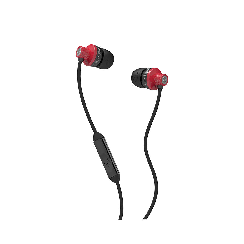 <!--020120703046649-->Skullcandy - 'Titan w/ Mic' [(Red/ Black) Earbuds]