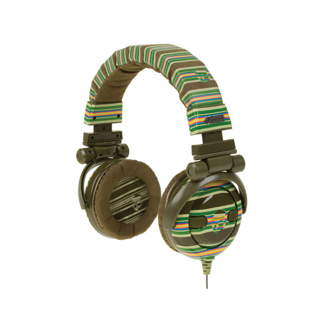 <!--020090901018065-->Skullcandy - 'G.I.' [(Brown Stripe) Headphones]