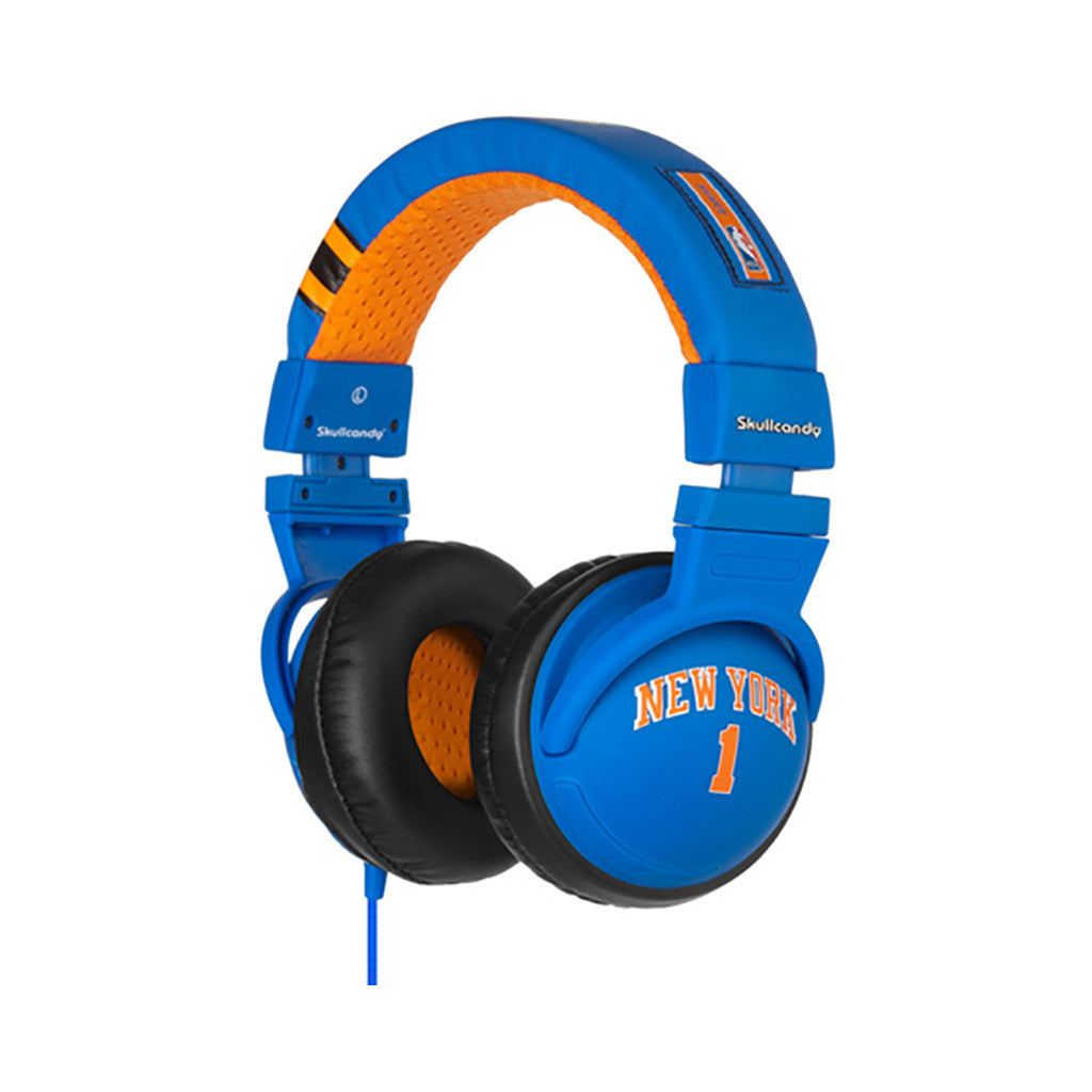 <!--020110419029448-->Skullcandy: Player Series x NBA: New York Knicks - 'Amare Stoudemire Hesh w/ Mic' [(Knicks) Headphones]