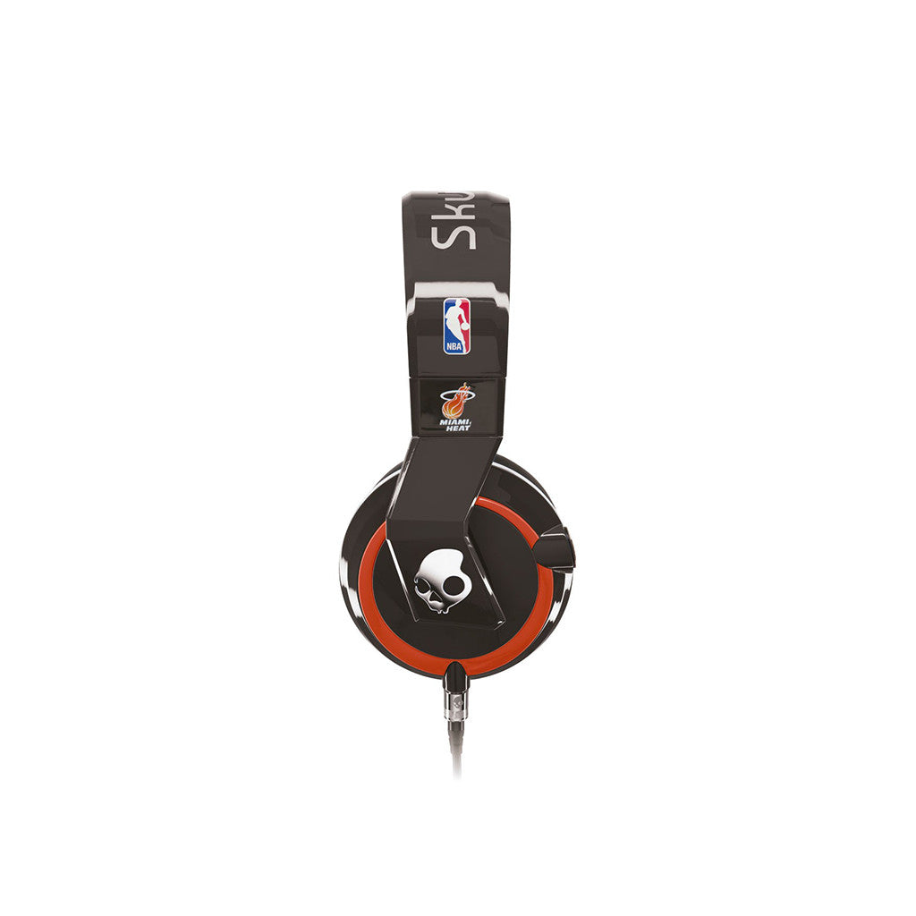 <!--020121120051187-->Skullcandy x Mix Master Mike x NBA: Miami Heat - 'Mix Master w/ Mic' [(Heat) Headphones]