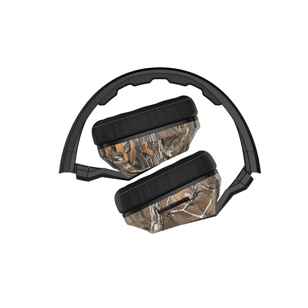 <!--020140319062912-->Skullcandy x Realtree - 'Crusher w/ Mic' [(Realtree Camo) Headphones]