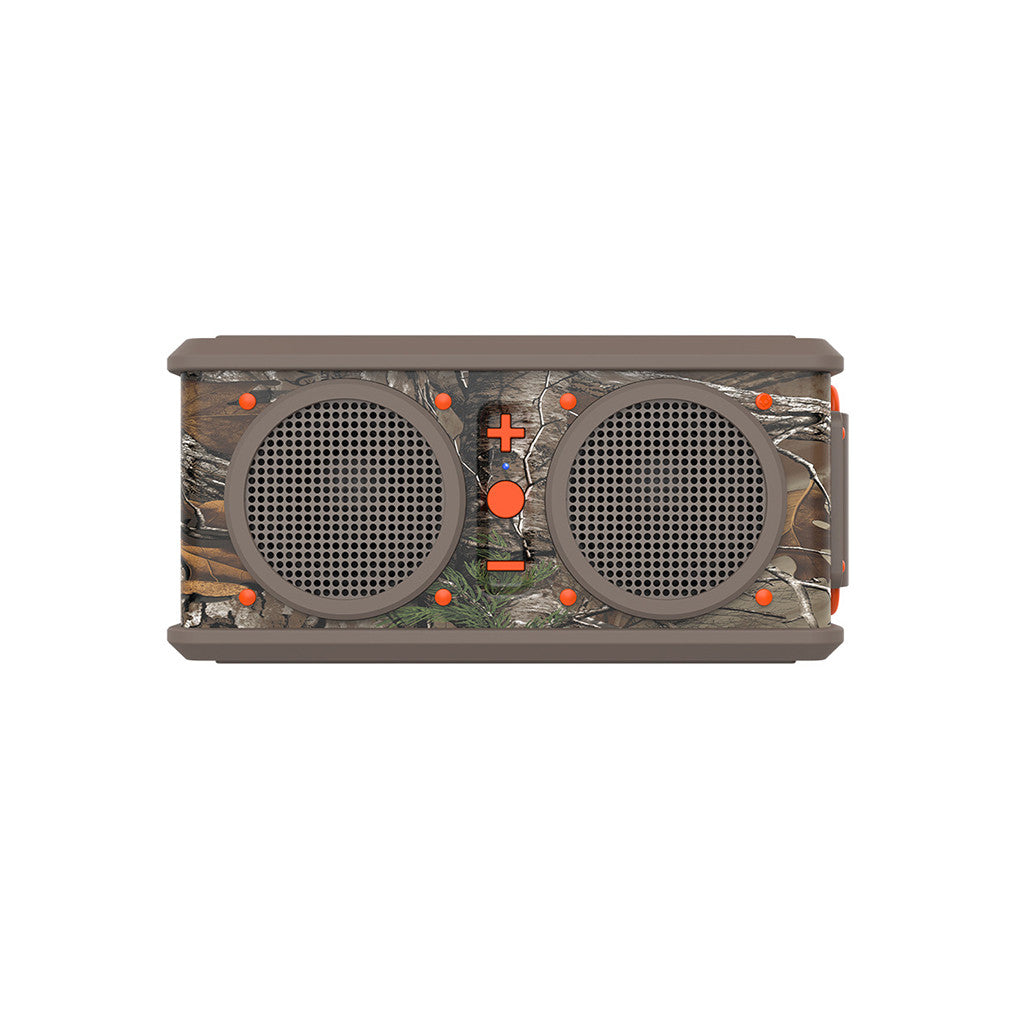 <!--020140701064440-->Skullcandy x Realtree - 'Air Raid' [(Realtree Camo/ Dark Tan/ Orange) Portable Speaker]