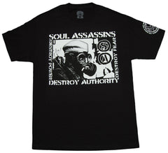 <!--2012100228-->Soul Assassins - 'Savage' [(Black) T-Shirt]