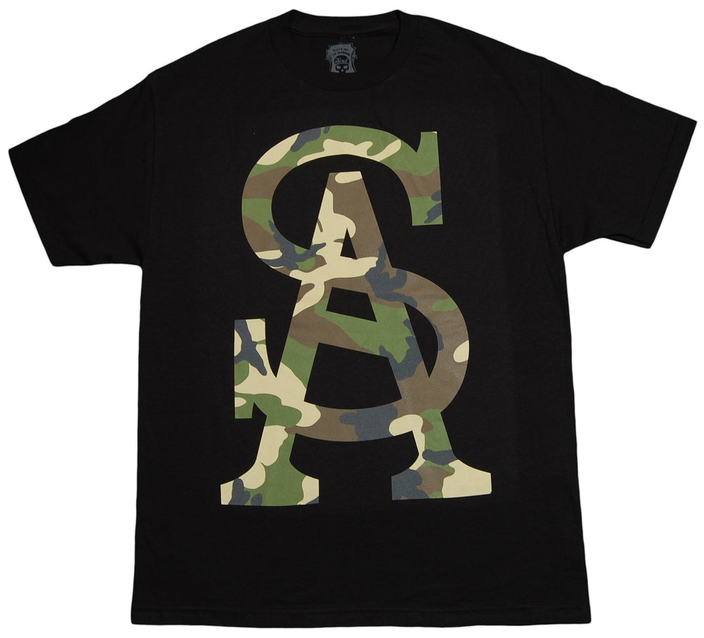 Soul Assassins - 'SA Camo' [(Black) T-Shirt]