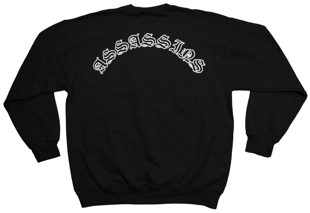 <!--2012100246-->Soul Assassins - 'Assassins' [(Black) Crewneck Sweatshirt]