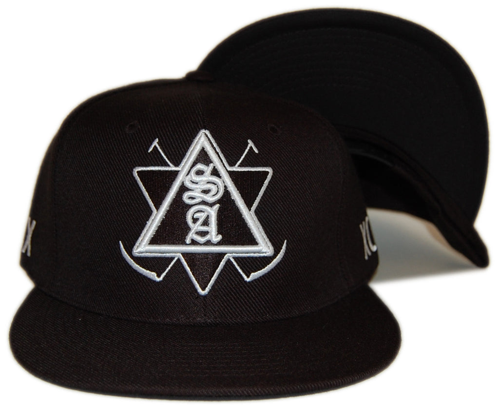 Soul Assassins - 'Emblem' [(Black) Snap Back Hat]