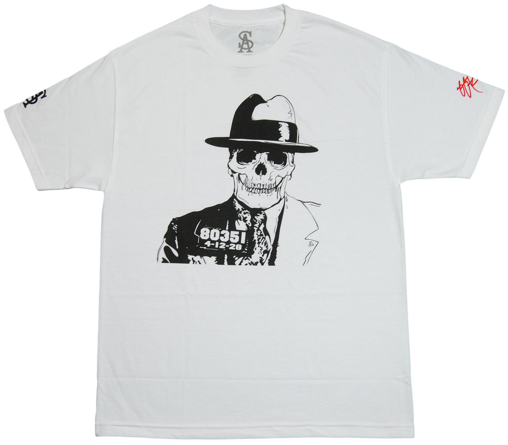 <!--2011092704-->Soul Assassins x SSUR - 'Skull' [(White) T-Shirt]