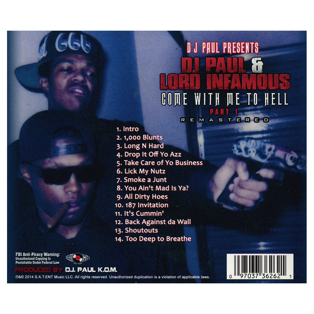 Dj paul lord infamous come with me to hell pt 1 cd dj paul lord infamous come with me to hell pt stopboris Image collections