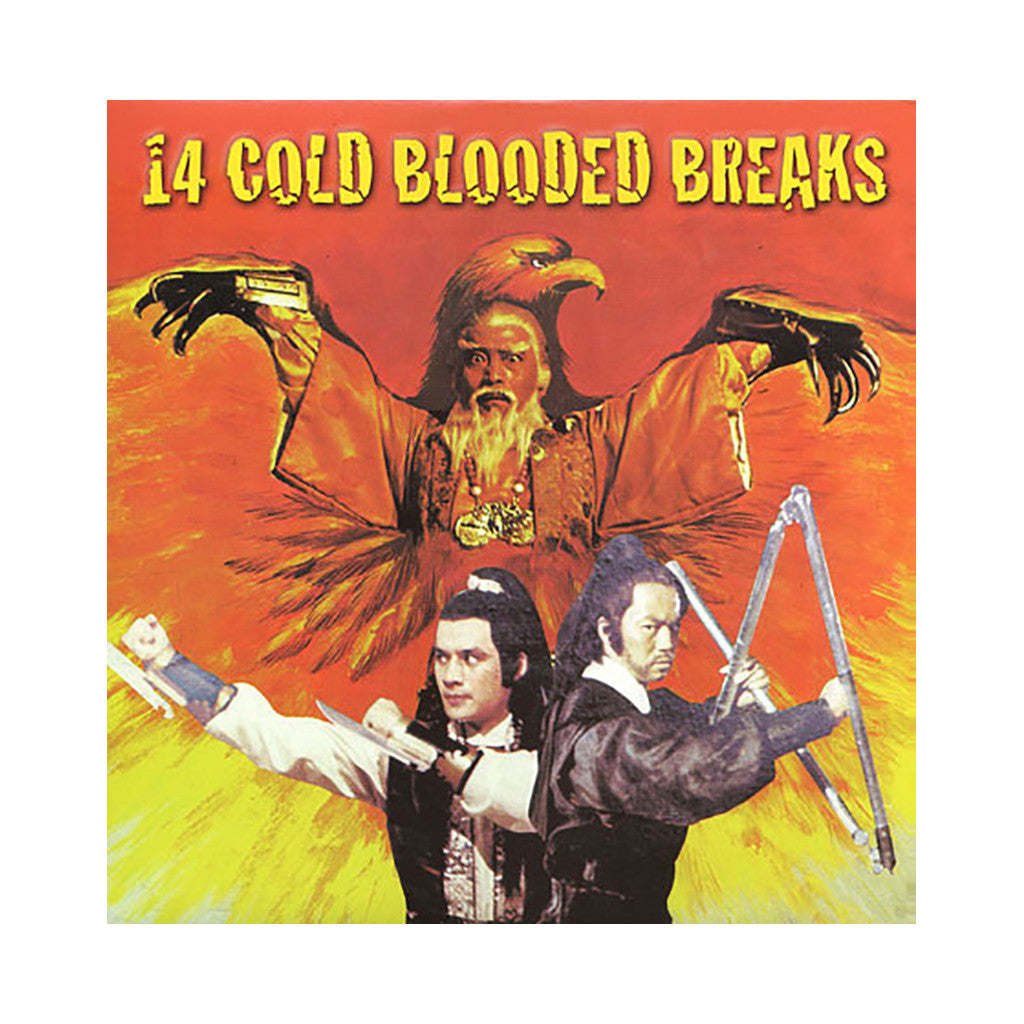 Paul Nice - '14 Cold Blooded Breaks' [(Black) Vinyl LP]