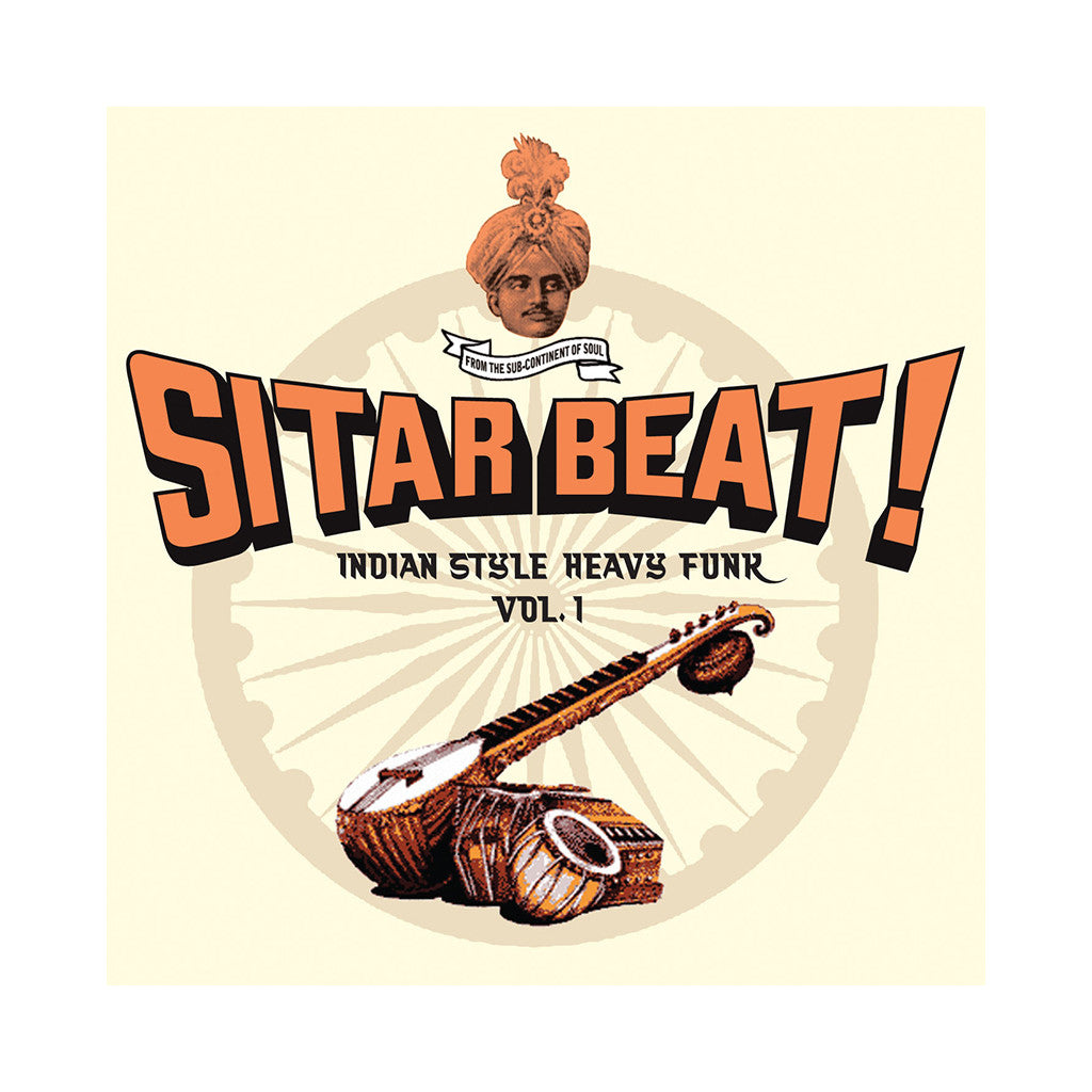 Various Artists - 'Sitar Beat: Indian Style Heavy Funk Vol. 1' [CD]