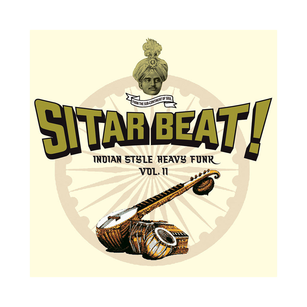 <!--020070724009993-->Various Artists - 'Sitar Beat: Indian Style Heavy Funk Vol. 2' [CD]