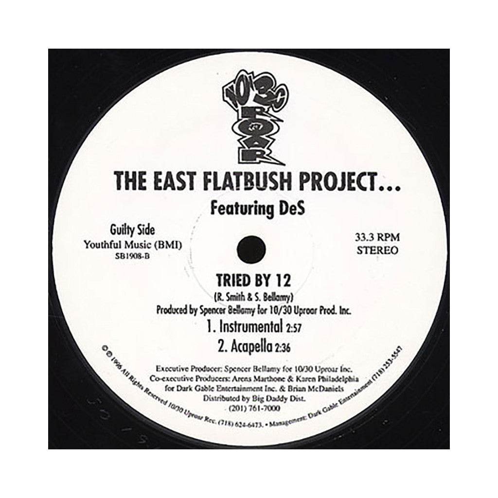 "<!--019960101014535-->East Flatbush Project - 'Tried By 12' [(Black) 12"" Vinyl Single]"