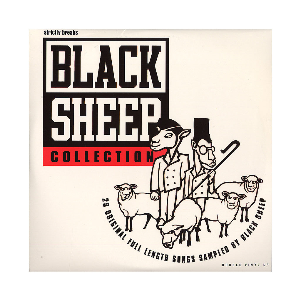 <!--2006120507-->Black Sheep - 'The Black Sheep Collection Vol. 1 (Original Samples)' [(Black) Vinyl [2LP]]