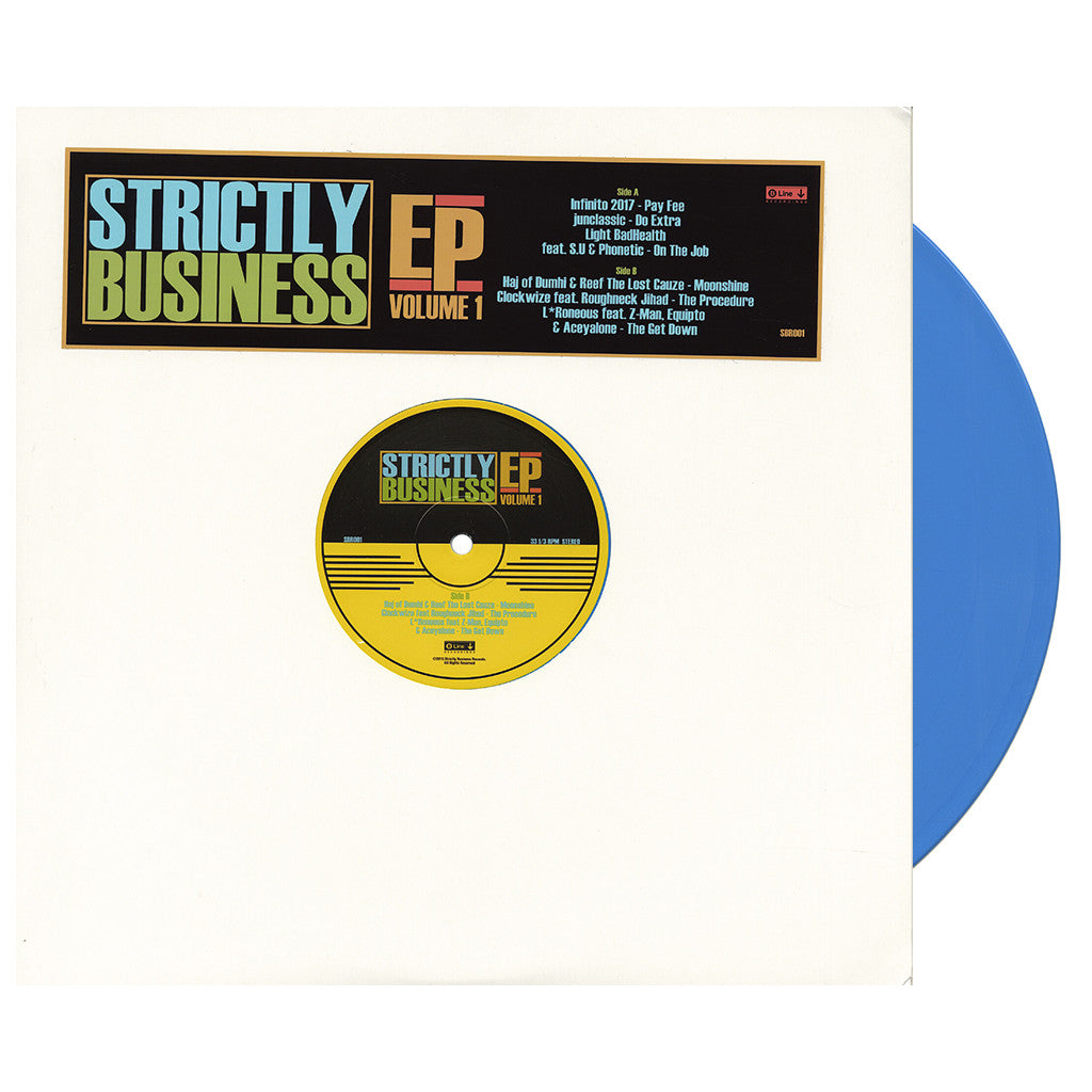 Various Artists - 'Strictly Business EP Vol. 1' [(Blue) Vinyl EP]
