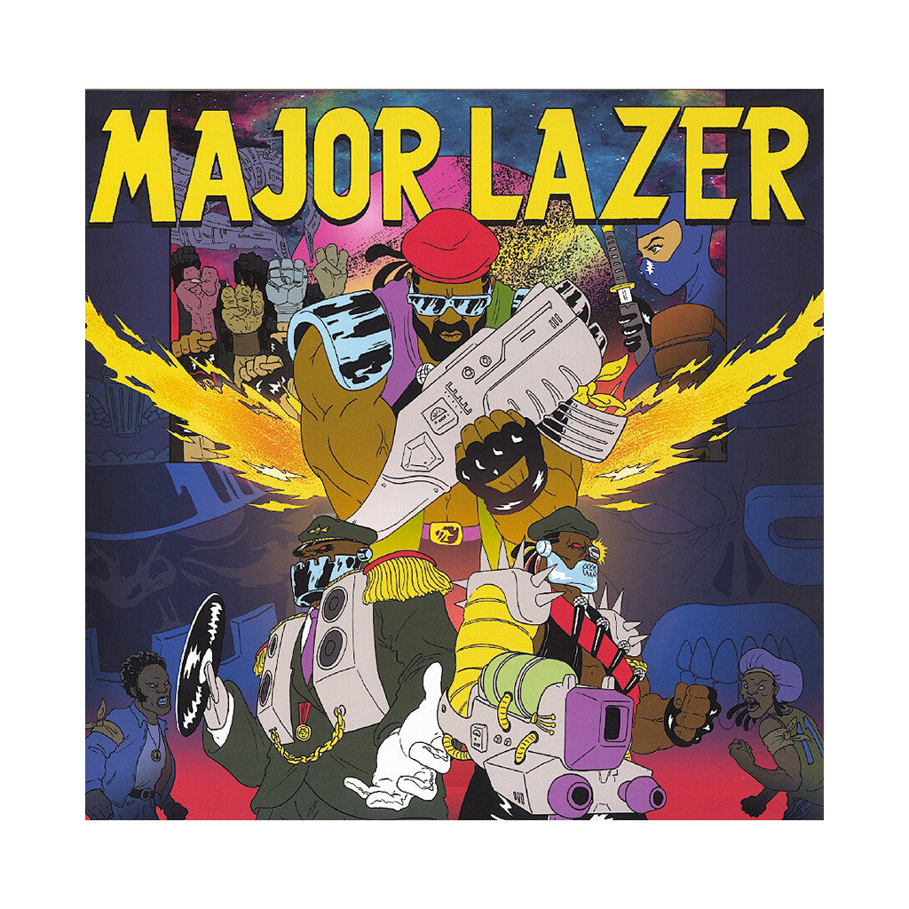 <!--120130514055611-->Major Lazer - 'Free The Universe' [(Black) Vinyl [2LP]]