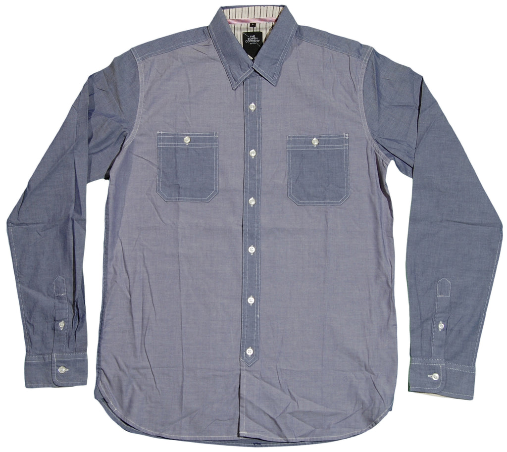 <!--2011091323-->The Scifen Company - 'Vise' [(Light Blue) Button Down Shirt]