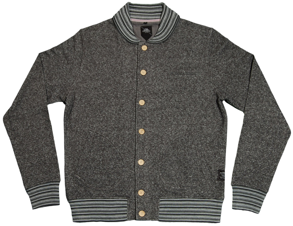 <!--2011091304-->The Scifen Company - 'Lafayette Button Crew' [(Dark Gray) Jacket]