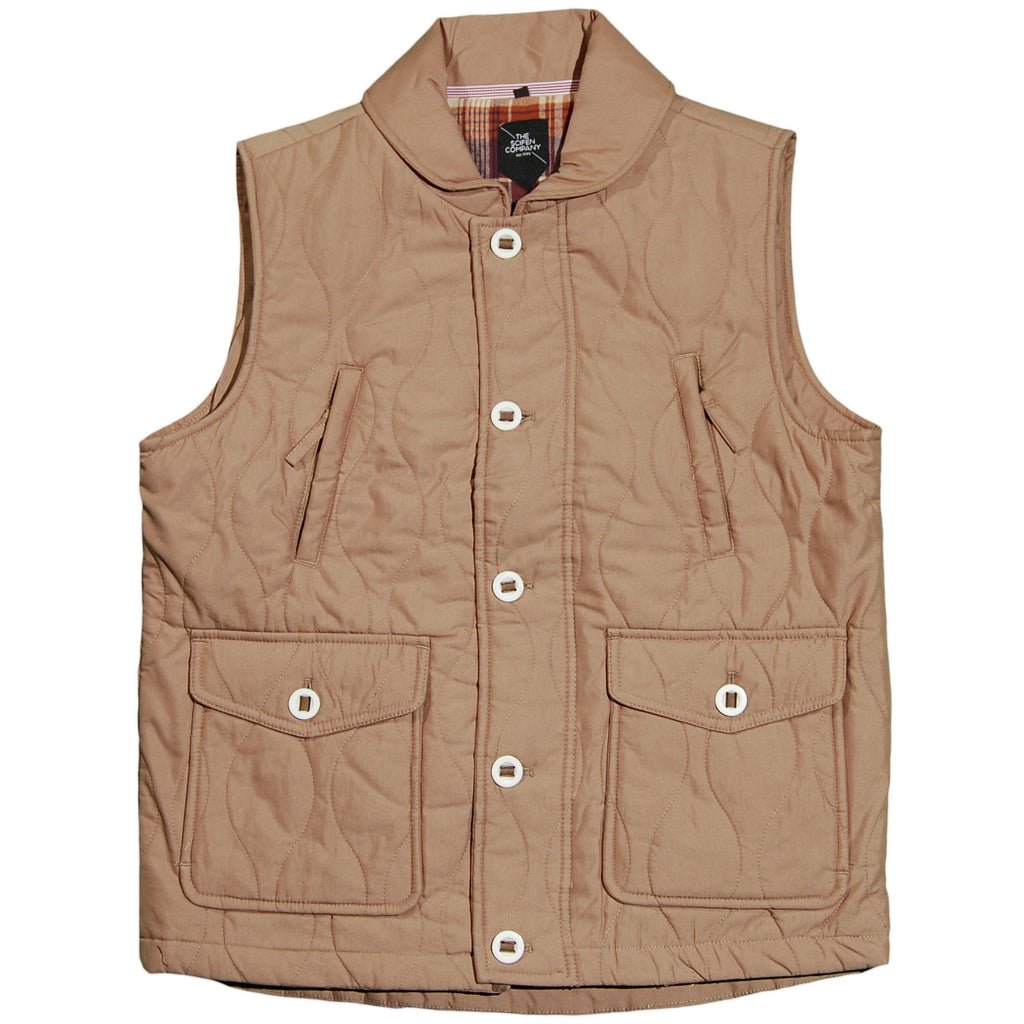 <!--2011110140-->The Scifen Company - 'Protocol' [(Light Brown) Vest]