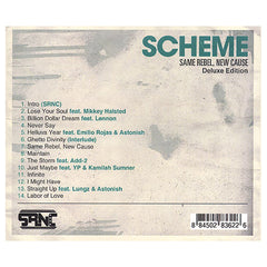 <!--020101116025133-->Scheme - 'Same Rebel, New Cause (Deluxe Edition)' [CD]