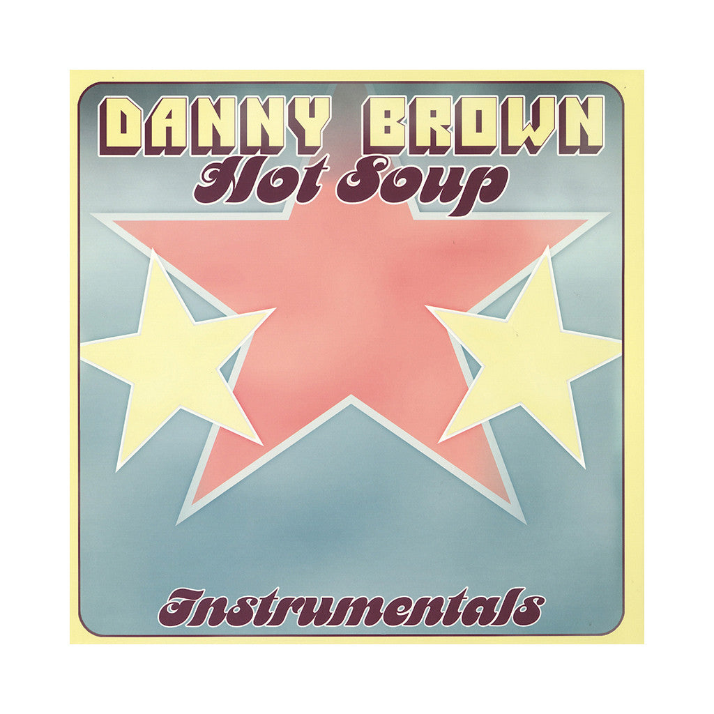 <!--2014091640-->Danny Brown - 'Hot Soup (Instrumentals)' [(Black) Vinyl [2LP]]