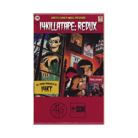 "[""14KT - '14KillaTape: Redux' [(Blood Red) Cassette Tape]""]"