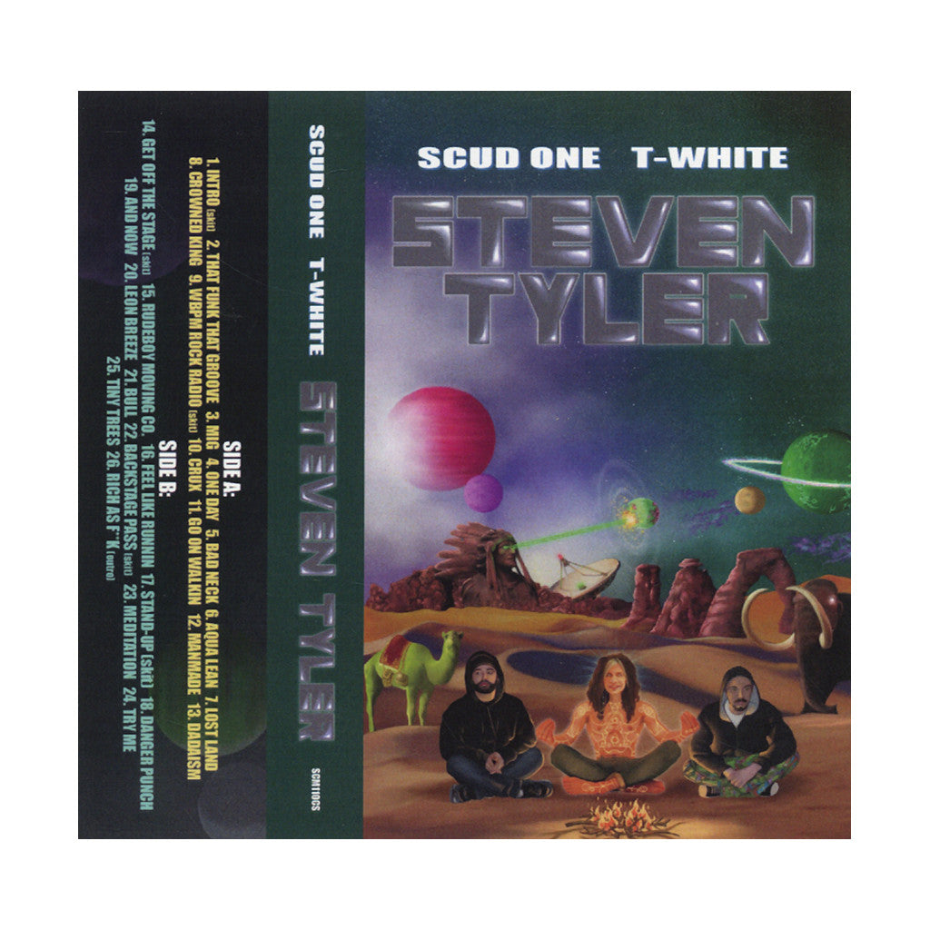 Scud One & T-White - 'Steven Tyler' [(Green) Cassette Tape]