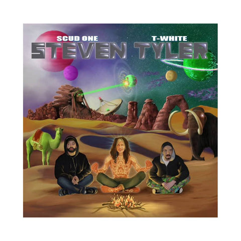 Scud One & T-White - 'Steven Tyler' [(Green) Vinyl LP]