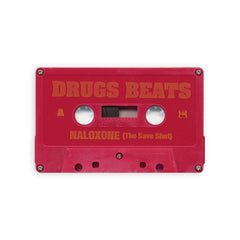 DRUGS BEATS - 'Naloxone (The Save Shot)' [(Red) Cassette Tape]