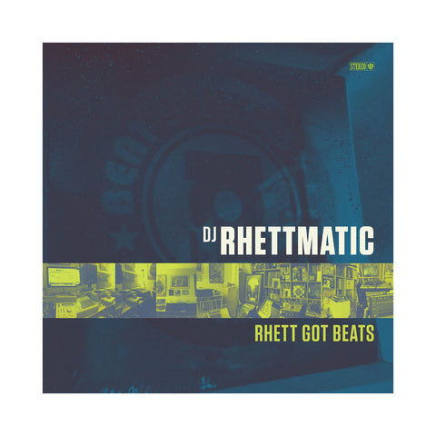 DJ Rhettmatic - 'Rhett Got Beats' [Cassette Tape]