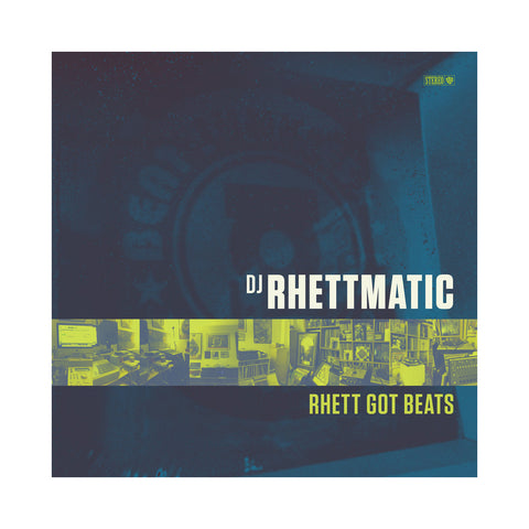 "[""DJ Rhettmatic - 'Rhett Got Beats' [(Black) Vinyl LP]""]"