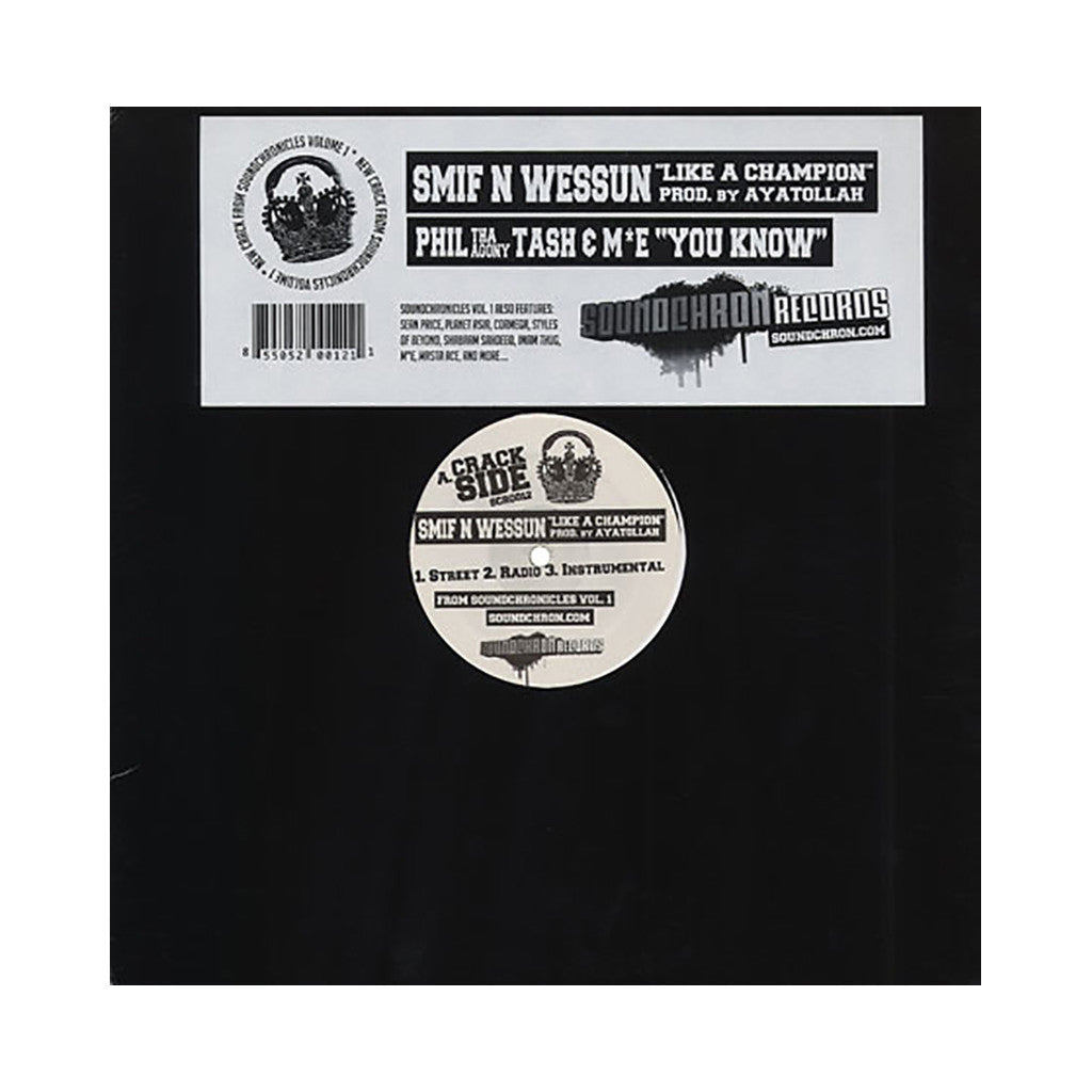 <!--2007030846-->Smif-N-Wessun - 'Like A Champion' [Streaming Audio]