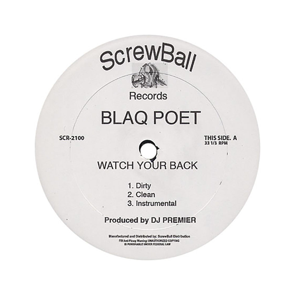 <!--2006072405-->Blaq Poet - 'Watch Your Back (INSTRUMENTAL)' [Streaming Audio]