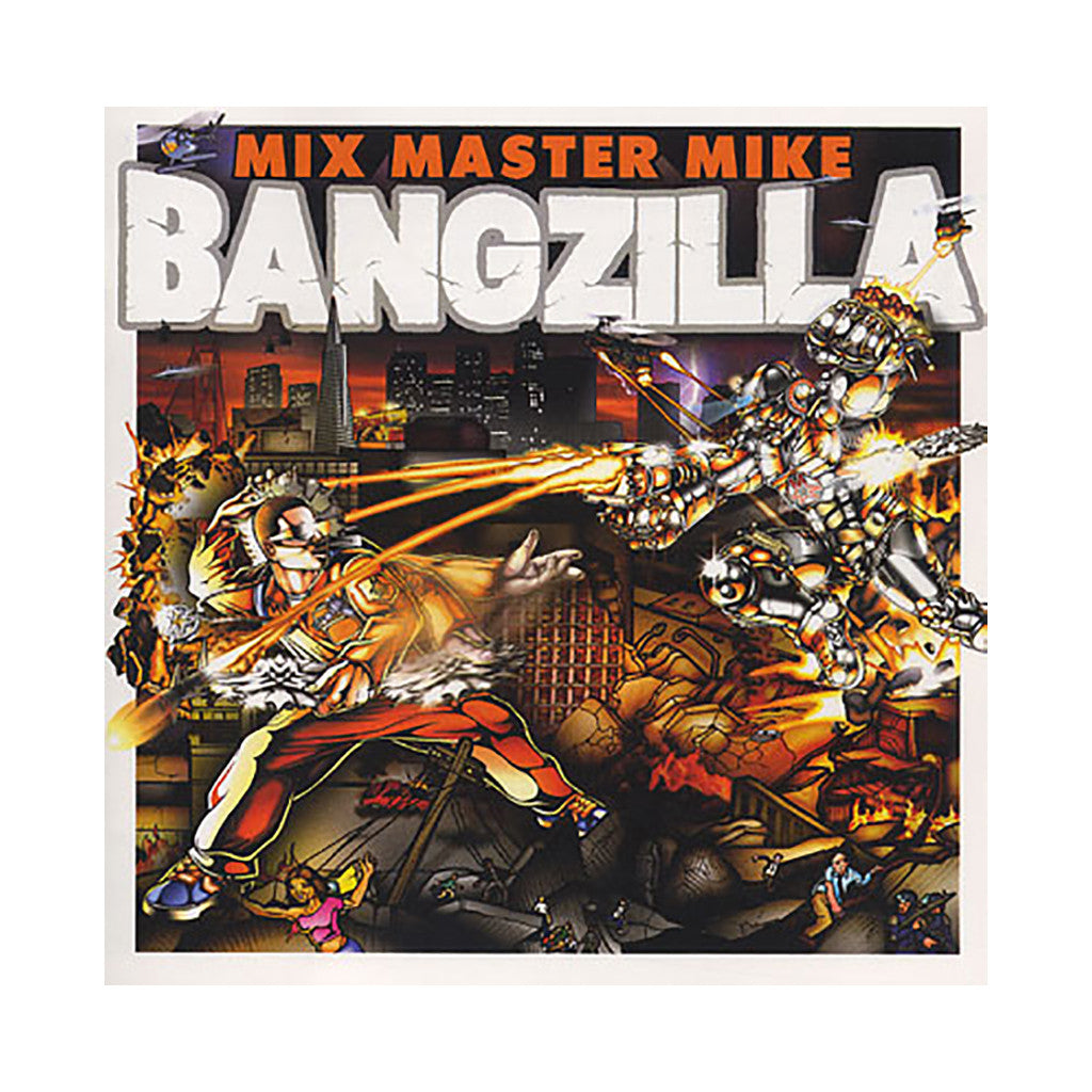 <!--020041019011875-->Mix Master Mike - 'Bangzilla' [CD]