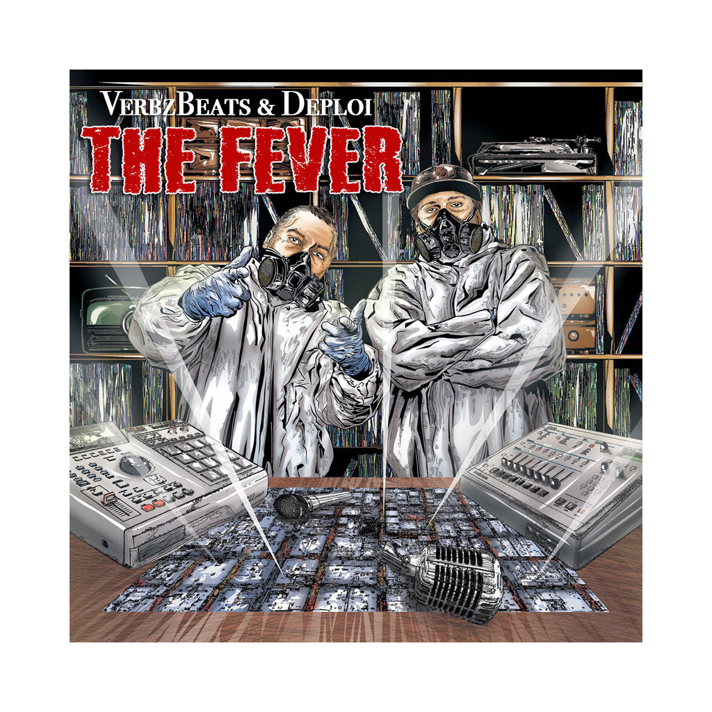 VerbzBeats & Deploi - 'The Fever' [CD]