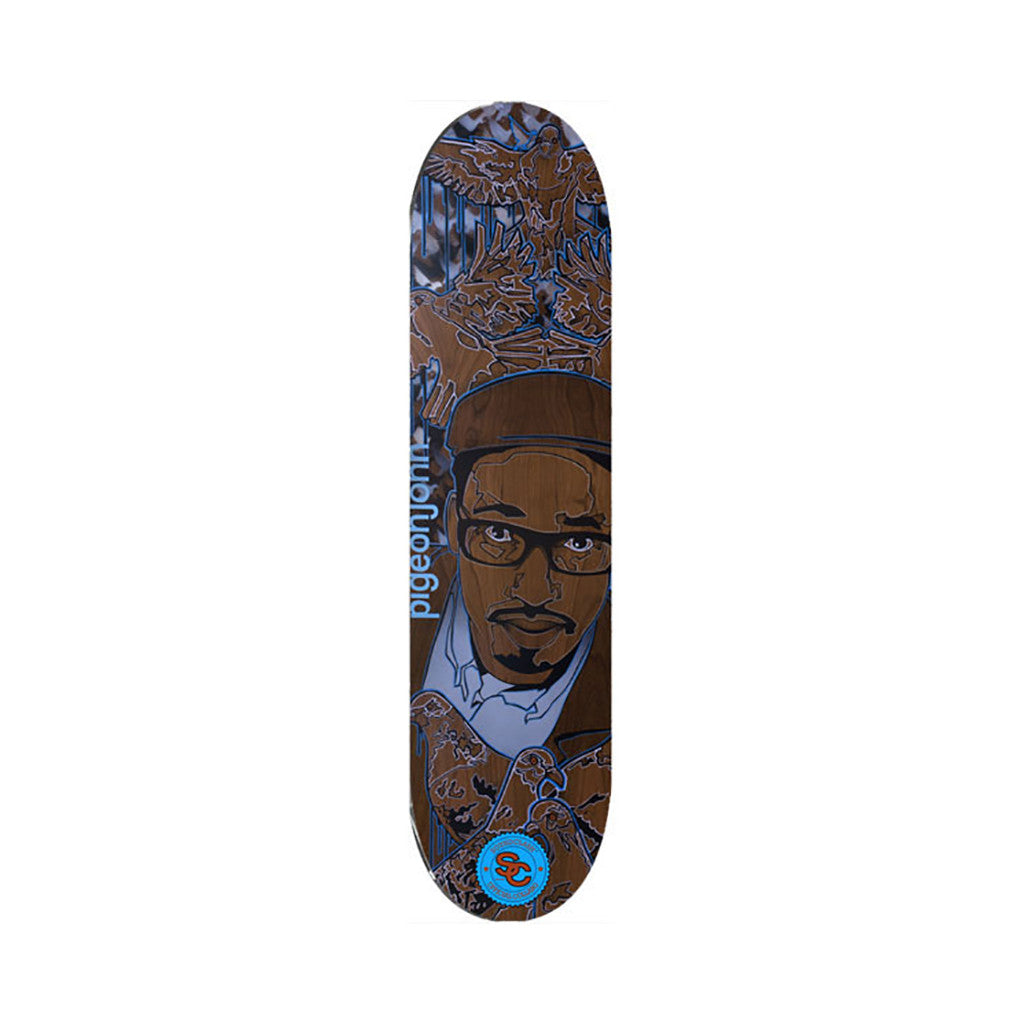 <!--020090120015816-->Soundclash Skateboards (Pigeon John of L.A. Symphony) - 'Pigeon John' [Skateboard Deck]