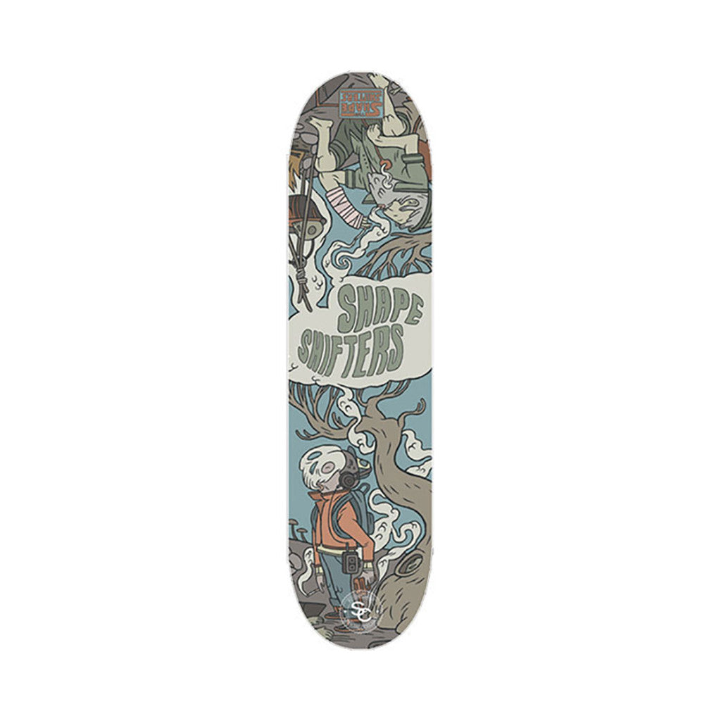 <!--020090120015815-->Soundclash Skateboards (Shapeshifters) - 'Shapeshifters' [Skateboard Deck]