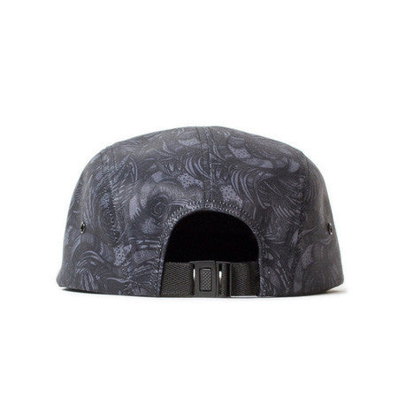 <!--020140813065034-->Sun Cycle Limited x Shallowtree - 'Stealth Camo' [(Dark Gray) Five Panel Camper Hat]