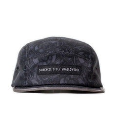 Sun Cycle Limited x Shallowtree - 'Stealth Camo' [(Dark Gray) Five Panel Camper Hat]